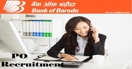 Bank of Baroda PO Recruitment 2021