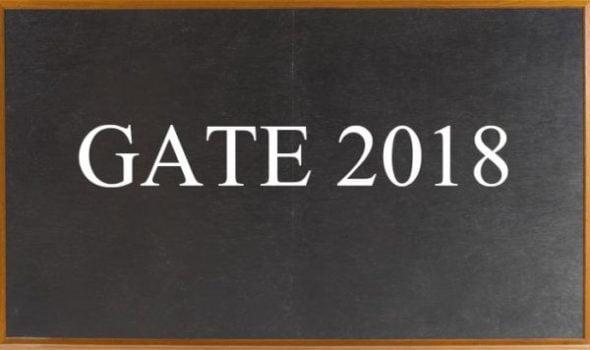 IIT Guwahati Graduate Aptitude Test in Engineering GATE 2018