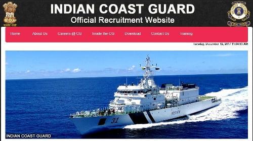 Indian Coast Guard Assistant Commandant Feb 2018 Batch