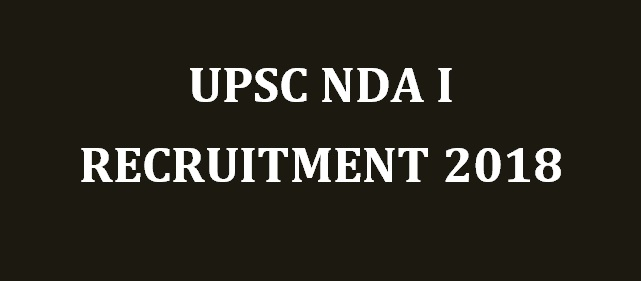 UPSC NDA I Final Result with Marks 2018