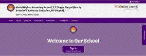 Model School Bhopal Admission form 2020