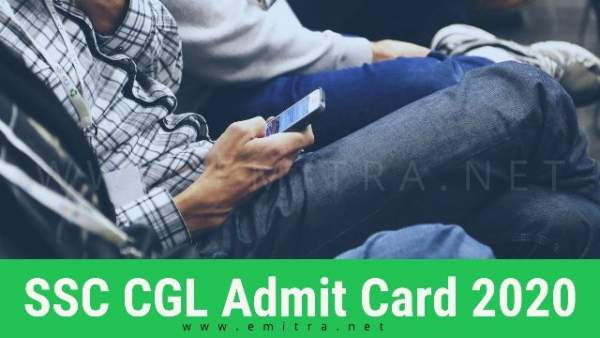 SSC CGL Admit Card 2020