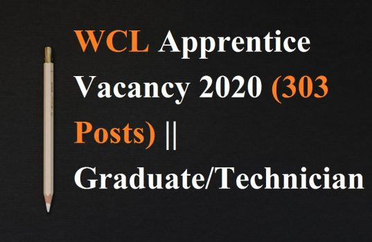 WCL Apprentice Vacancy 2020