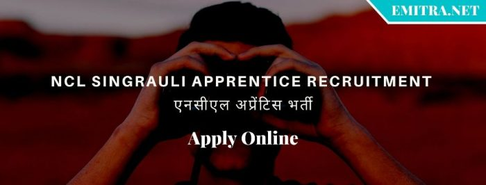 NCL Singrauli Apprentice Recruitment 2020