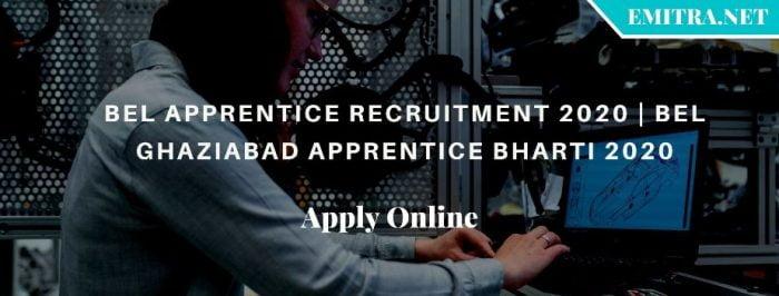 BEL Apprentice Recruitment 2020