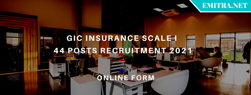 GIC Insurance Scale I 44 Posts