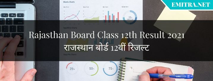 Rajasthan Board Class 12th Result 2021
